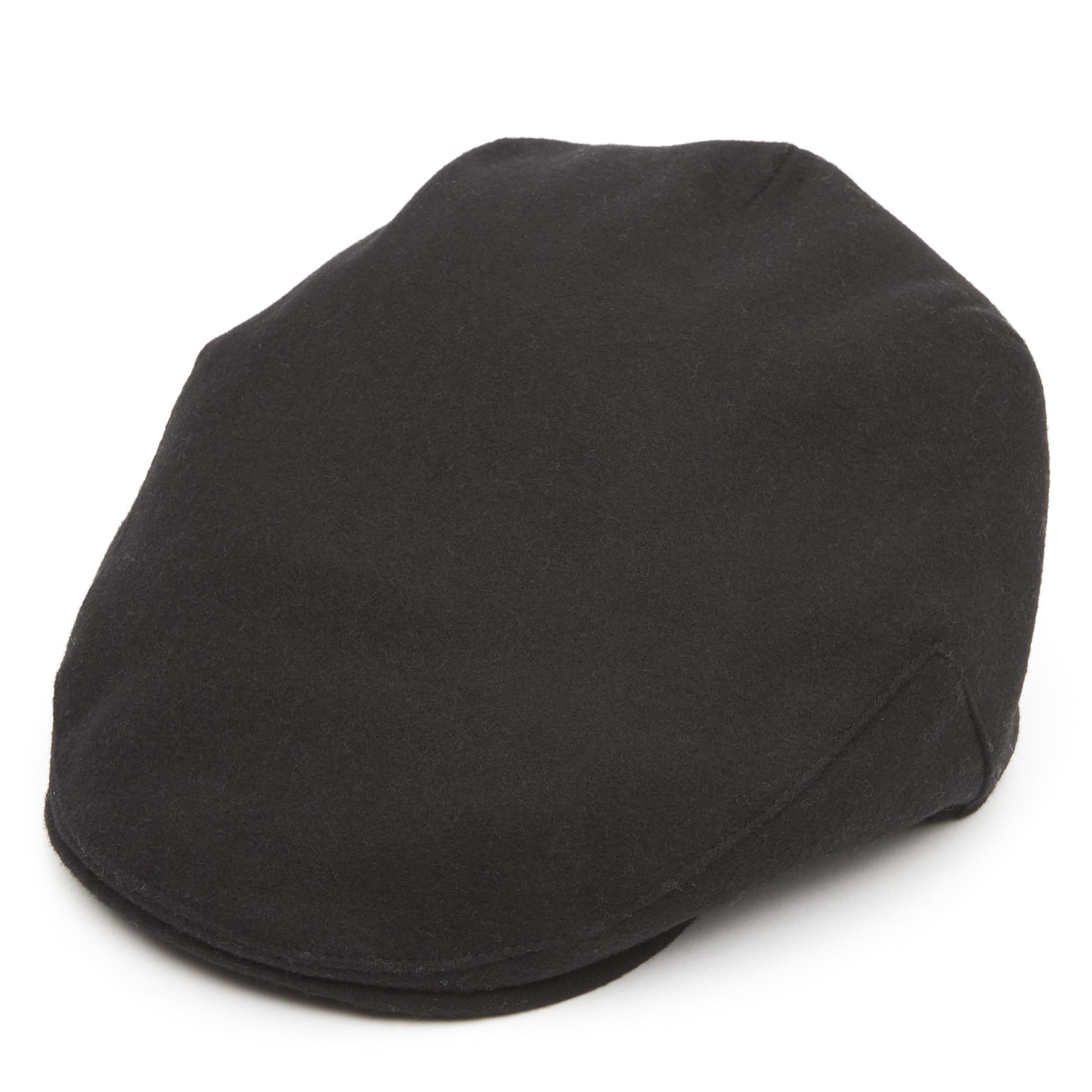 66743e91c5e Lyst - Christys  Balmoral Moleskin Cotton Cap in Black for Men