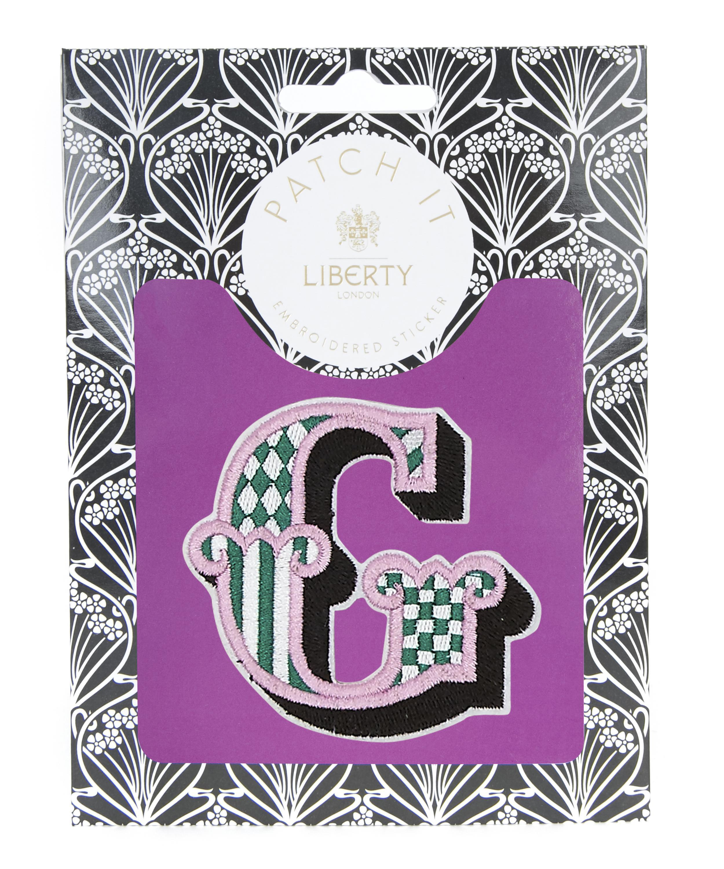 Lyst Liberty Embroidered Sticker Patch In G