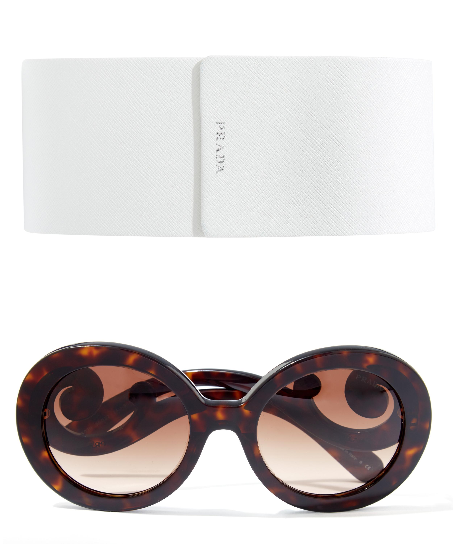 Prada Baroque Sunglasses in Brown