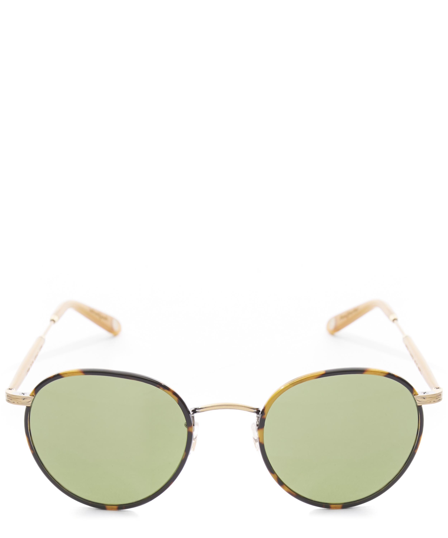 2a3c4874ec74 Lyst - Garrett Leight Amber Tokyo Tortoiseshell Sunglasses in Brown