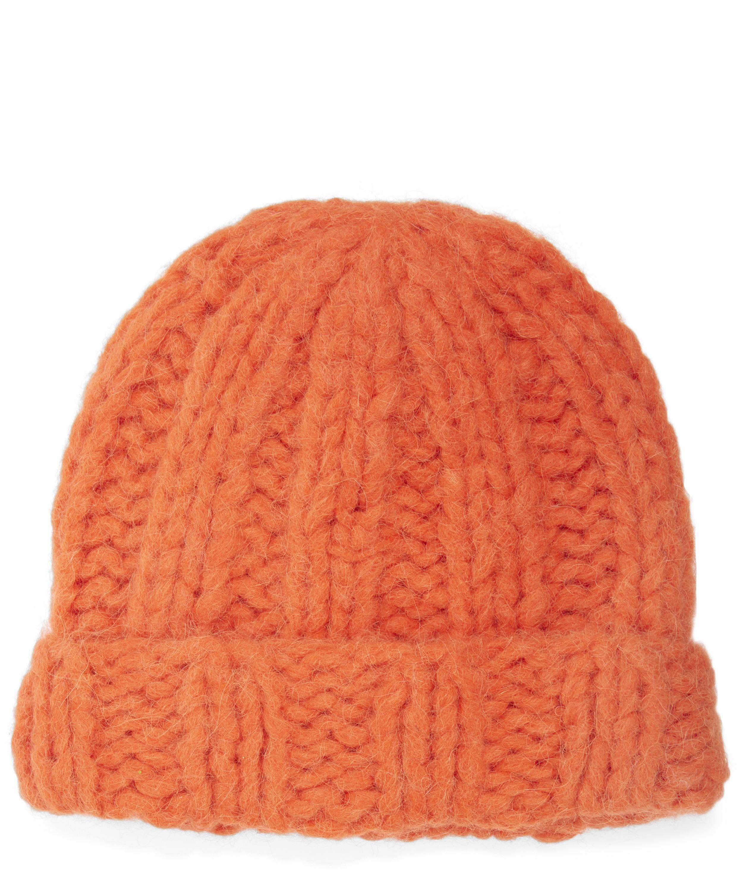 db9d3184395c Lyst - Acne Studios Jewel H Alpaca Knitted Beanie Hat in .