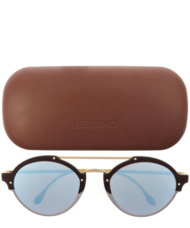 Illesteva Malpensa Sunglasses in Black