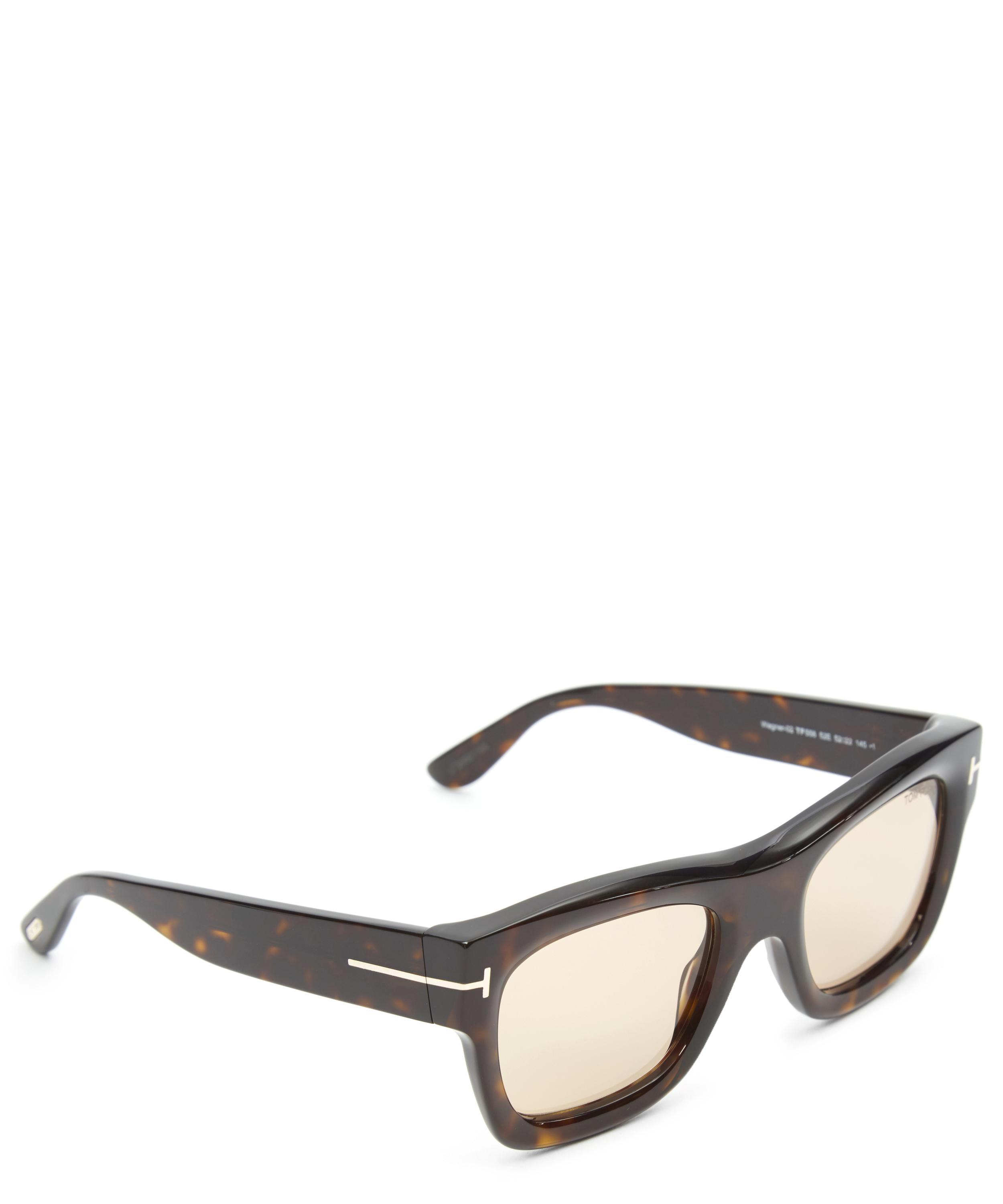 Tom Ford Wagner Sunglasses in Brown