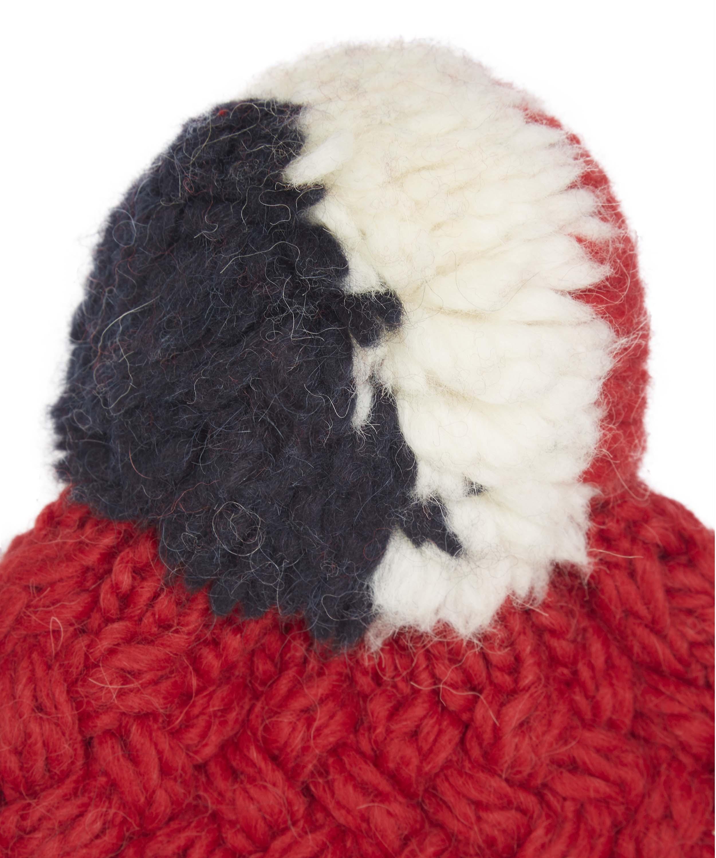 4d74b5a56f0 Moncler Tricolour Pom Pom Hat for Men - Lyst