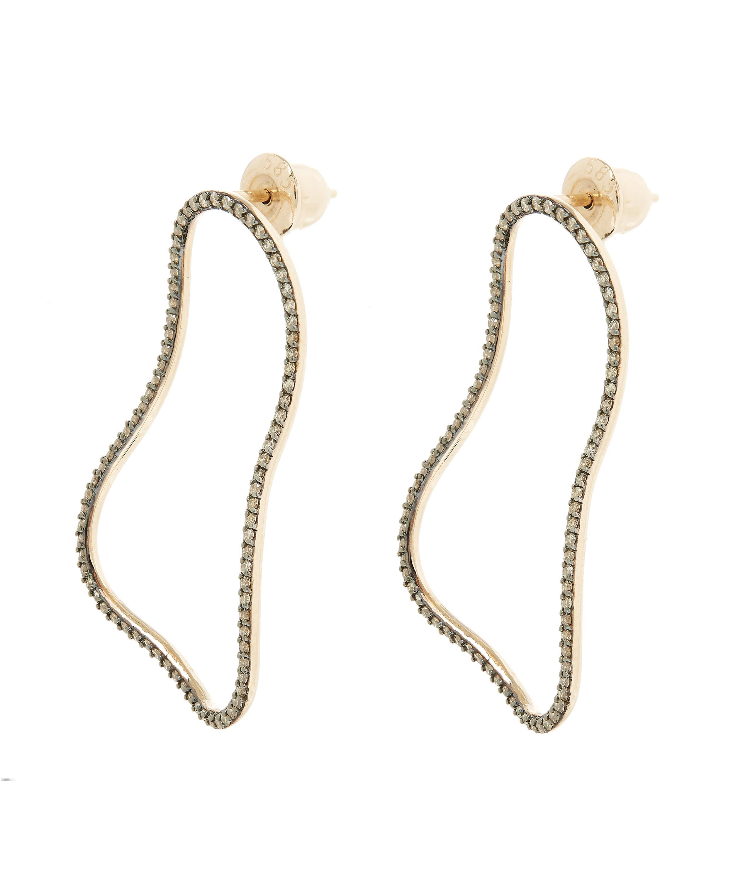 products twinkle jewelry earring single earrings thread jj through hollowell diamond logan