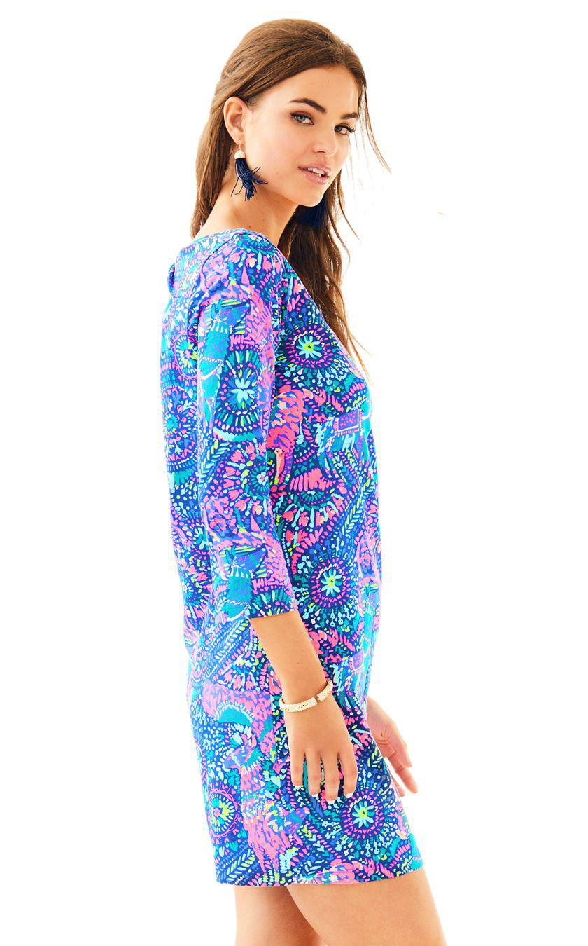 6d74cb1b4 Lyst - Lilly Pulitzer Bay Dress in Blue
