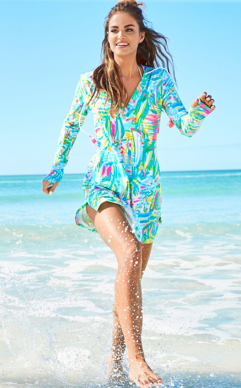 25b1a1a073 Lilly Pulitzer Upf 50+ Rylie Dress in Blue - Lyst