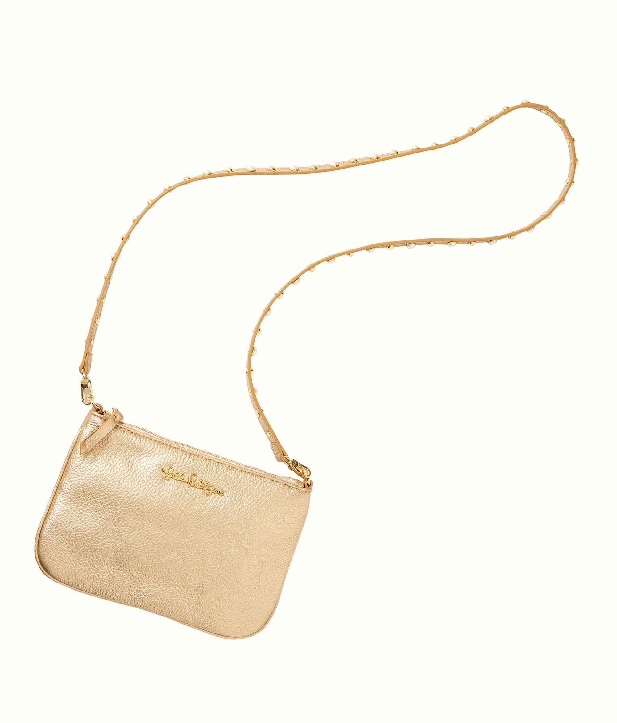 Lyst - Lilly Pulitzer Studded Leather Cruisin Crossbody Bag b1c76e86e6072