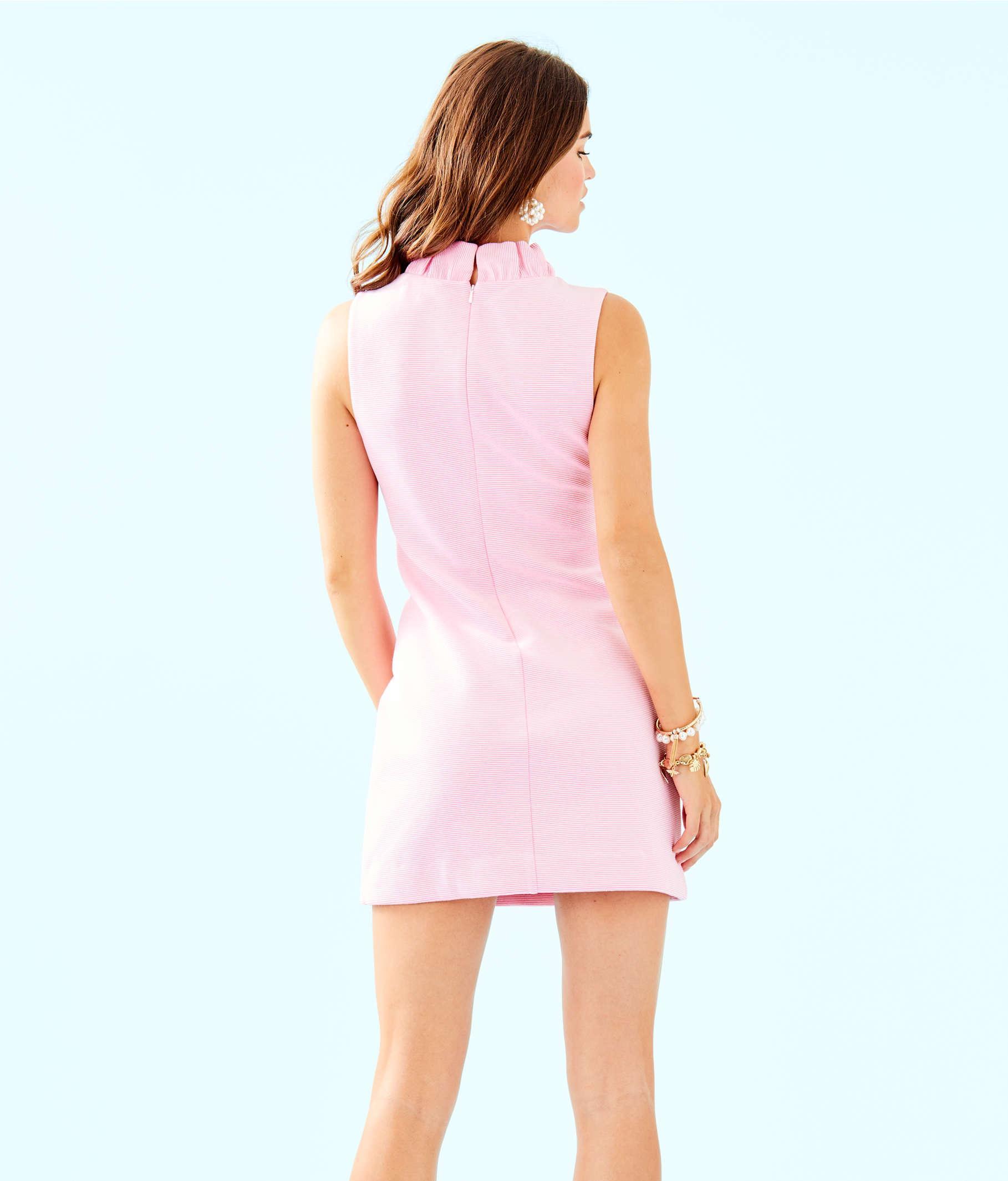 2019 Lilly Pulitzer Tisbury Shift Dress Size XL Pink Stripe