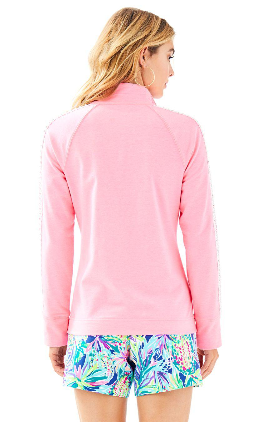 3f26a8fc6dd Lyst - Lilly Pulitzer Skipper Solid Popover in Pink