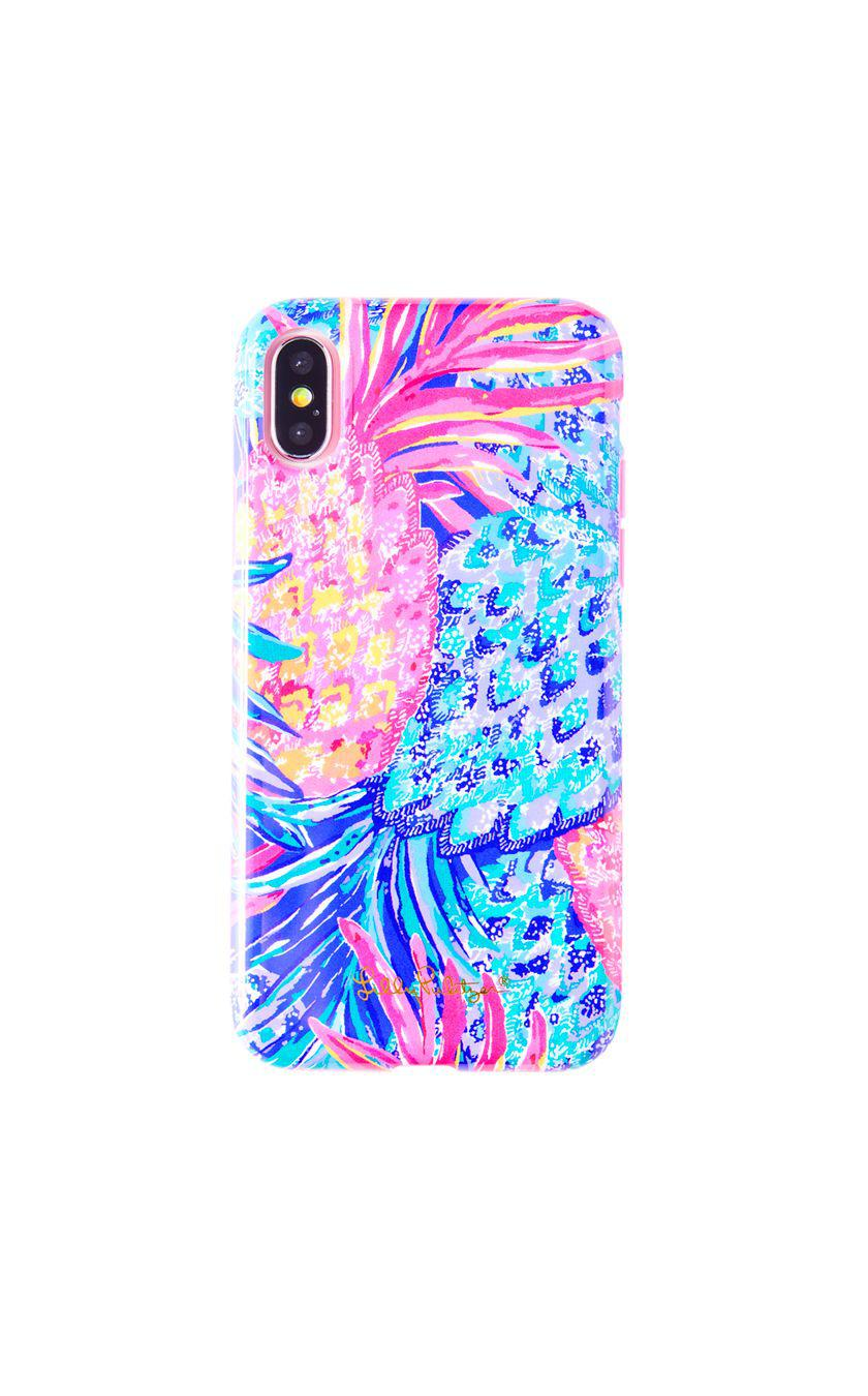 low priced 02d72 684bc Lilly Pulitzer Blue Iphone X Classic Case