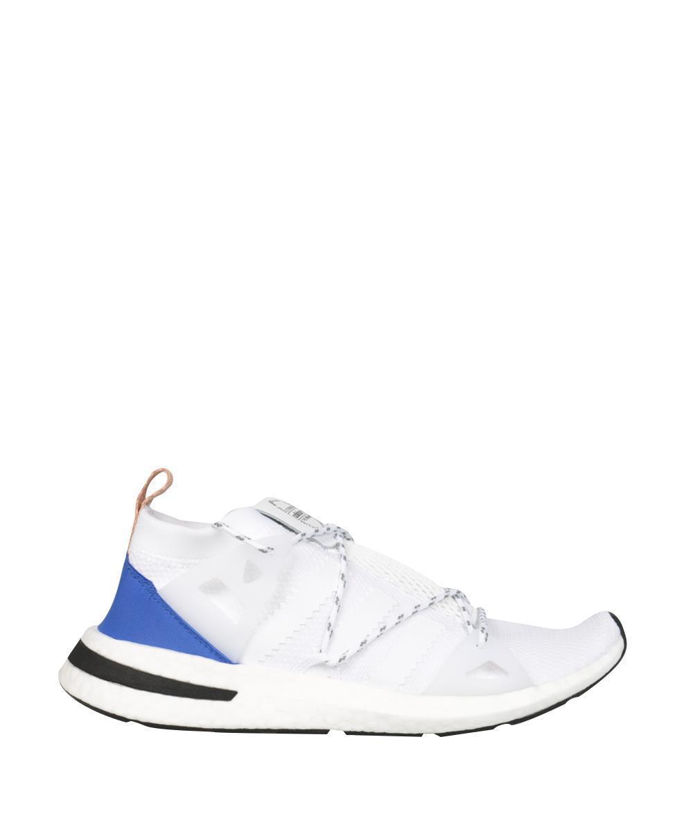 lyst adidas originali arkyn scarpe bianche per gli uomini.