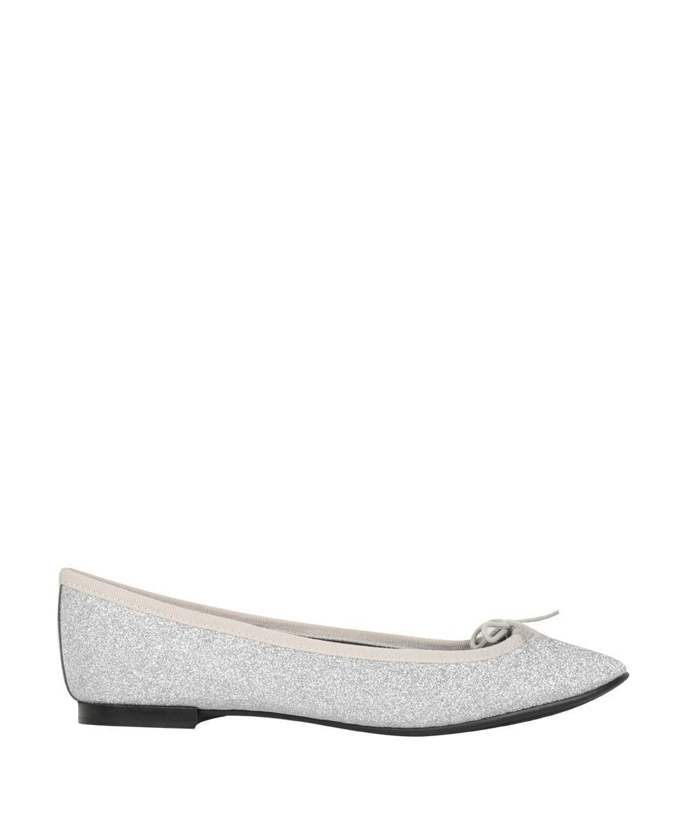 97d5902ba0be Repetto Lili Flats in Metallic - Lyst