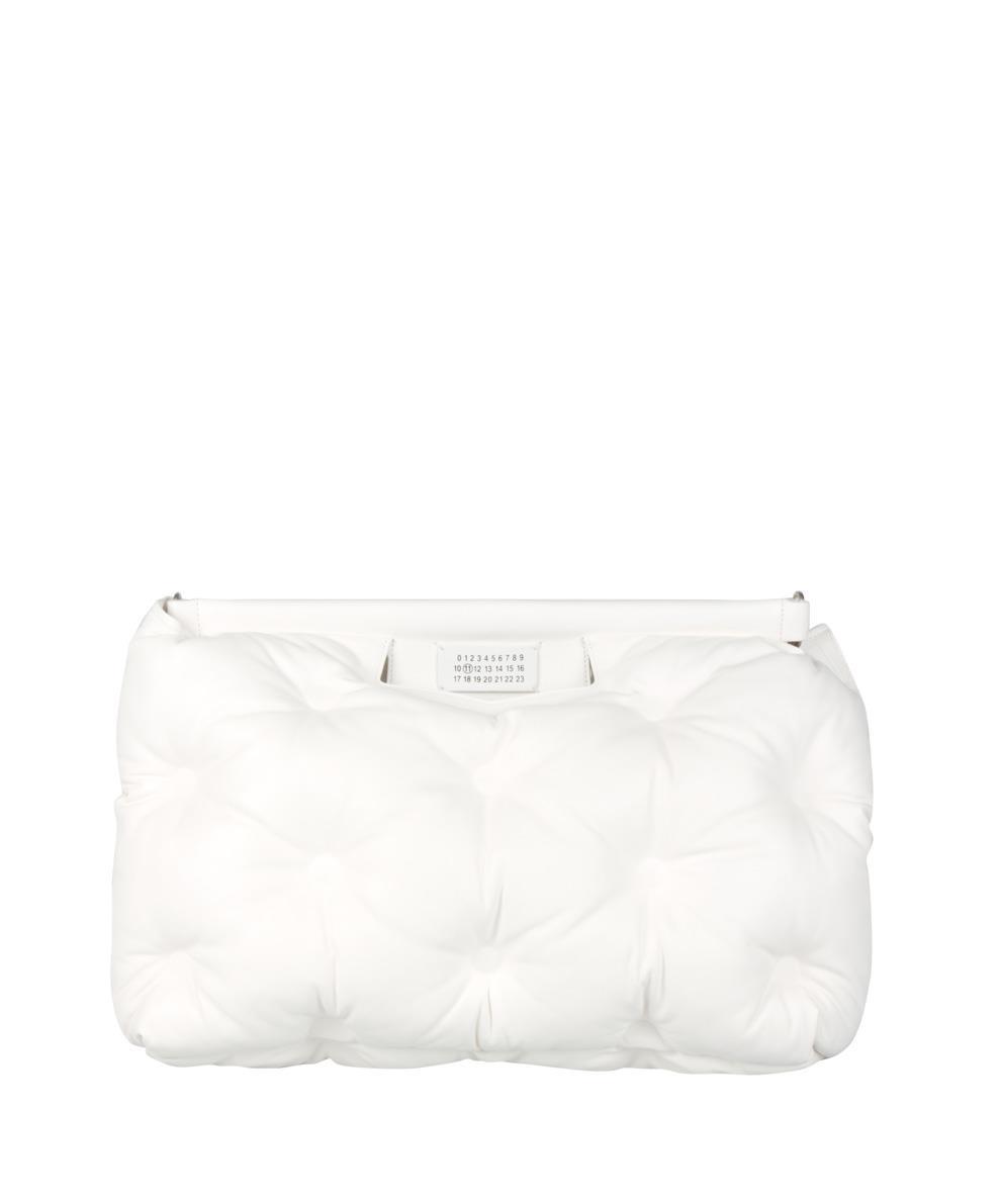 3f9811bbb4 Lyst - Maison Margiela Borsa Glam Slam Large in White