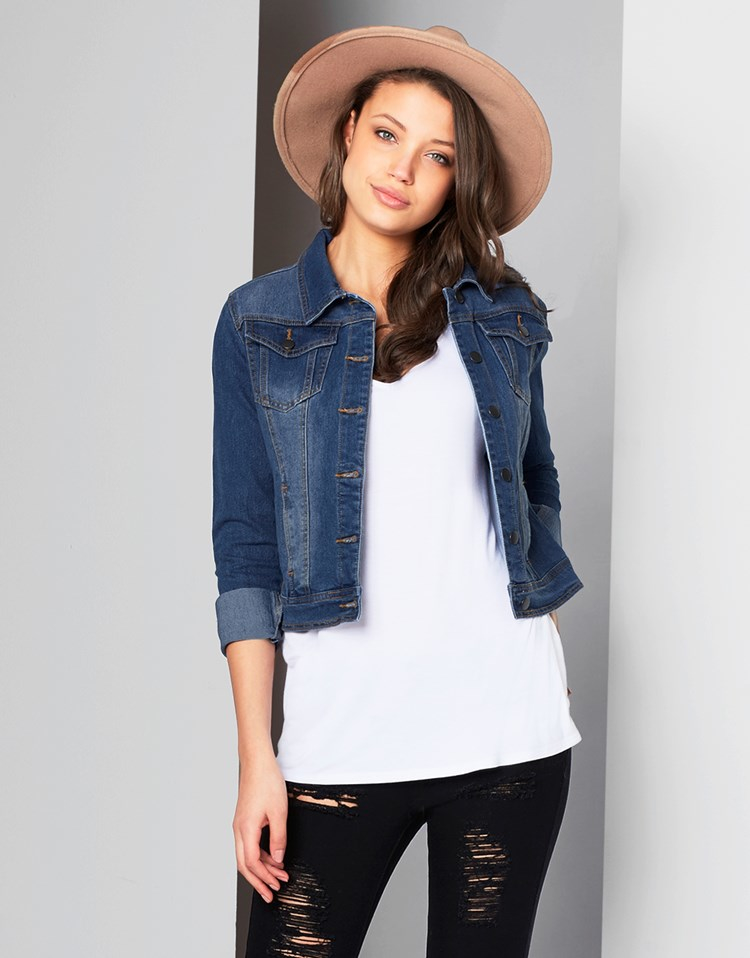Get the best deals on short sleeve cropped denim jacket and save up to 70% off at Poshmark now! Whatever you're shopping for, we've got it.