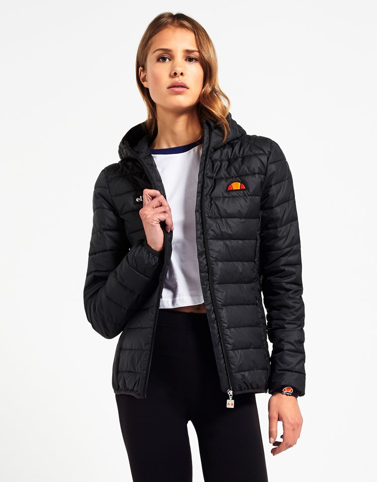 Ellesse Quilted Jacket in Blue