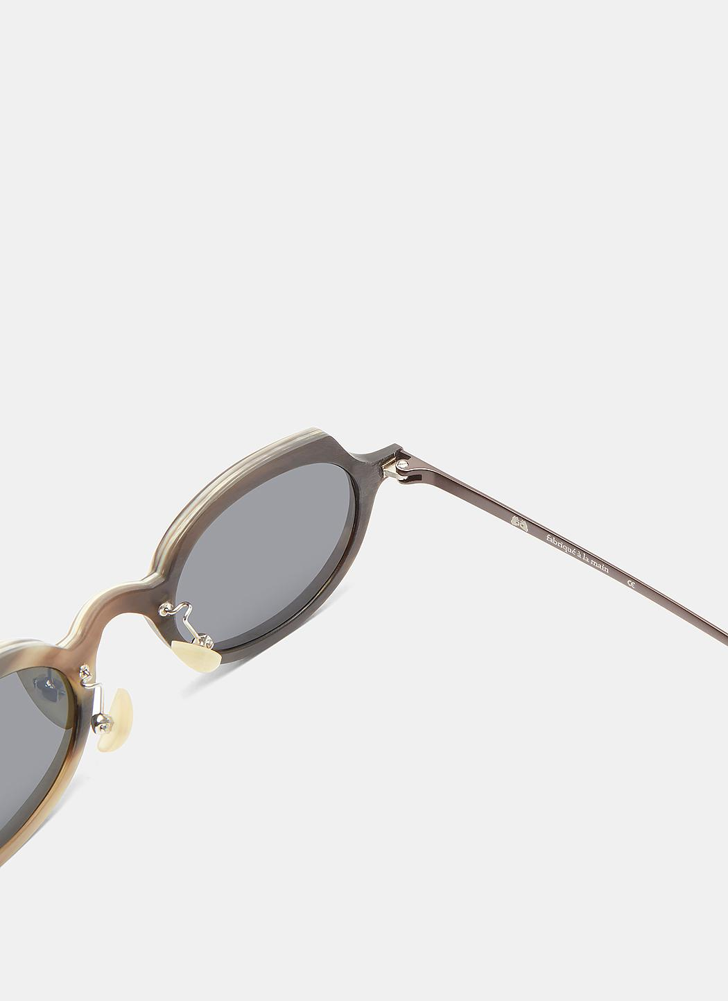 RG0090 Horn Oval Sunglasses Rigards J1OP8m4SQ