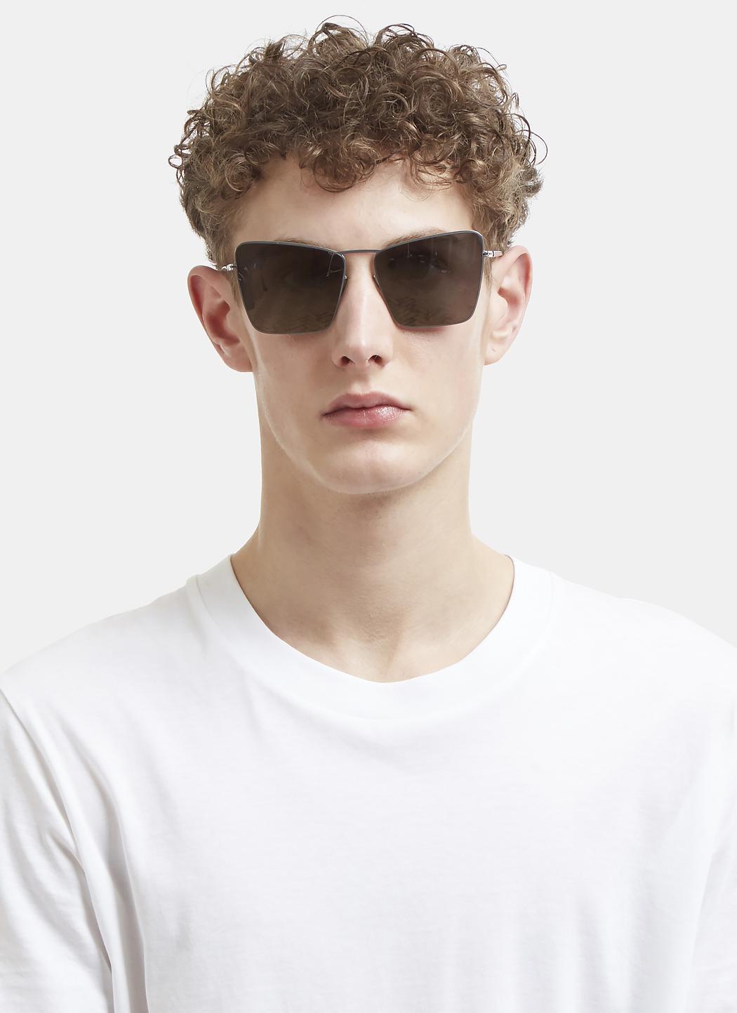 Mykita X Maison Margiela Mmesse014 Sunglasses In Silver in Metallic for Men