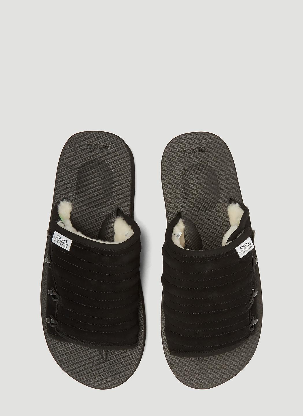 cf179730582e Suicoke - Mura Mab Sandals In Black for Men - Lyst. View fullscreen