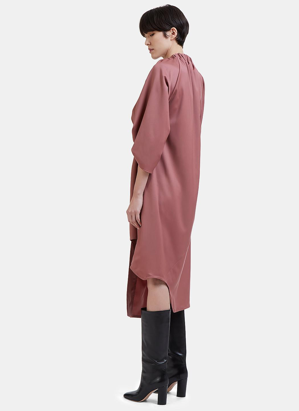 Ruched Wool Dress Vejas c8to9xM