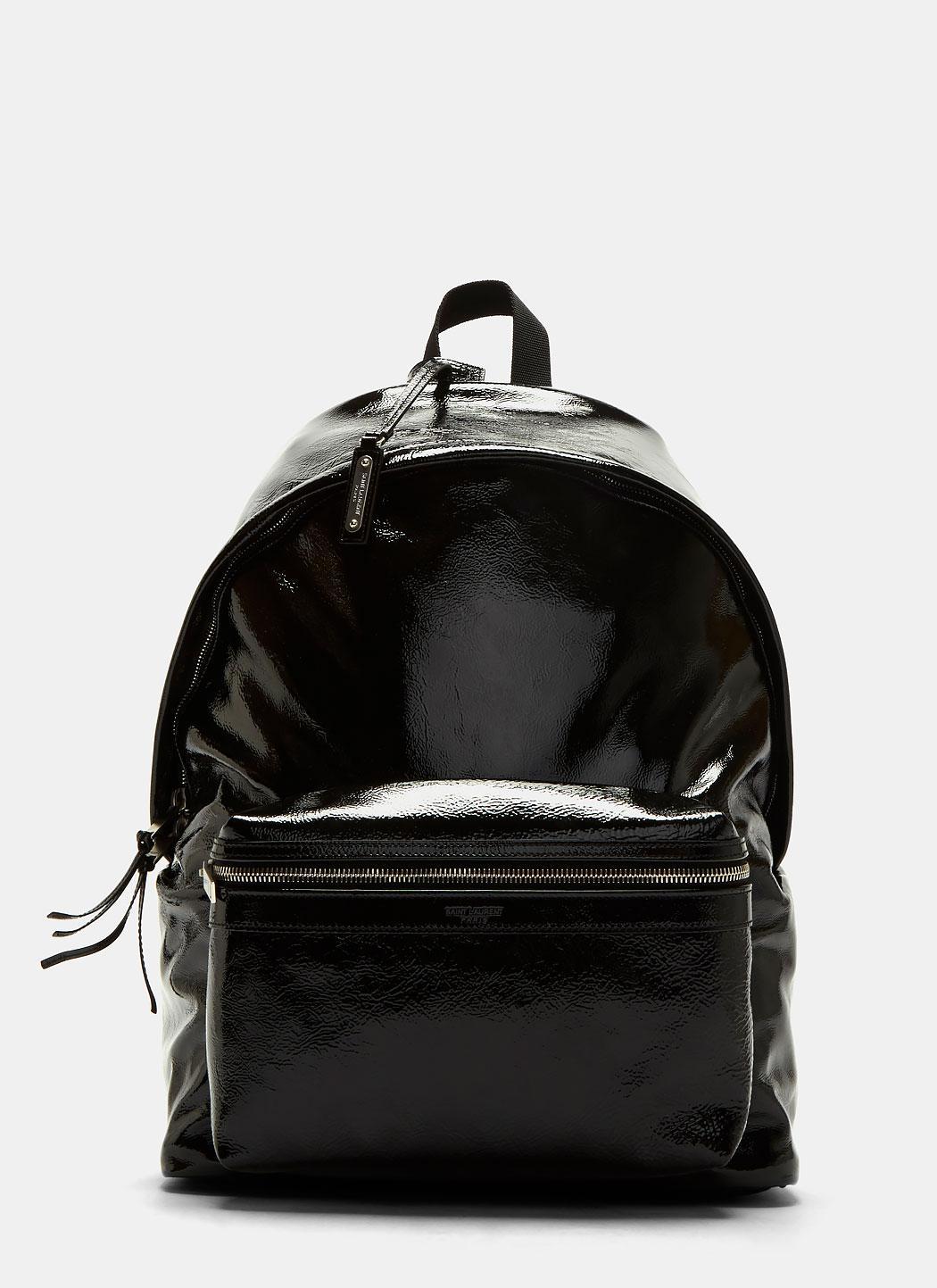 7a11935fd7f5 Saint Laurent Backpack Leather