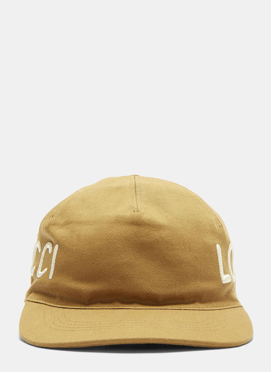 Khaki Loved Cap Gucci rclZH