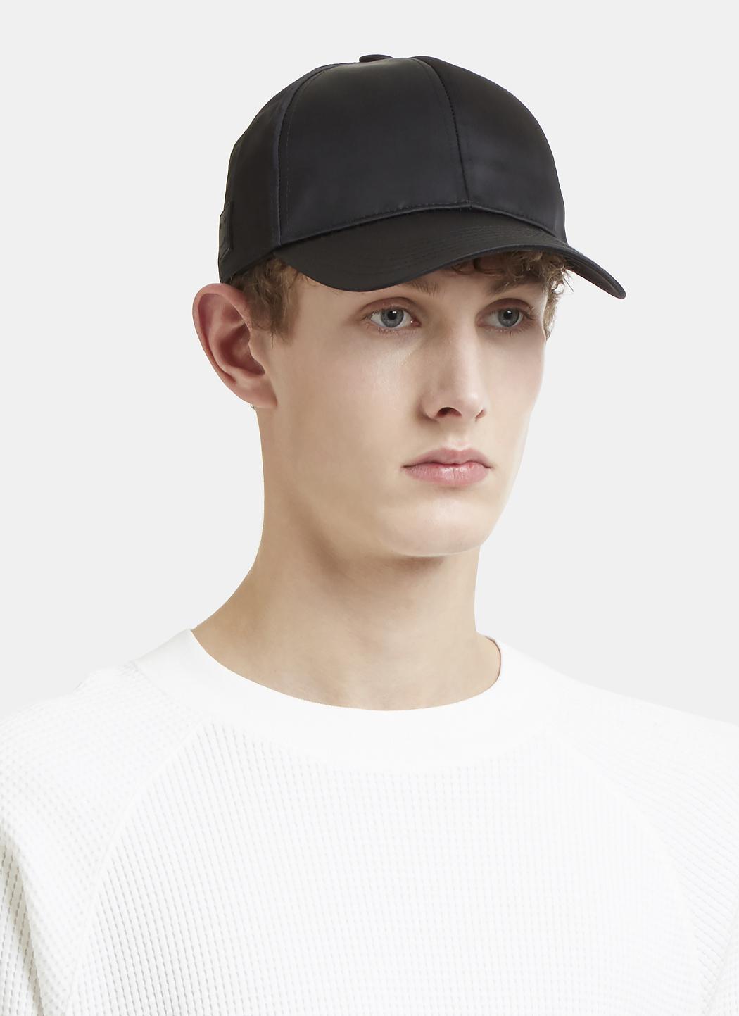 efde5033fce Lyst - Acne Studios Camp Matt Face Hat In Black in Black for Men