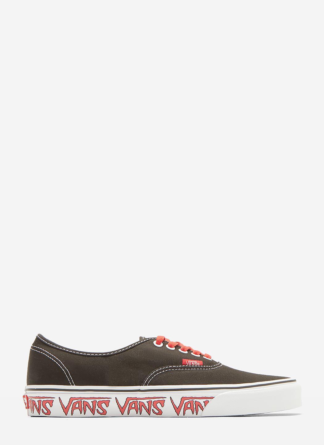 Authentic Sketch Sidewall Lace-up Sneakers Vans Verkaufsangebote elYWEMZLc