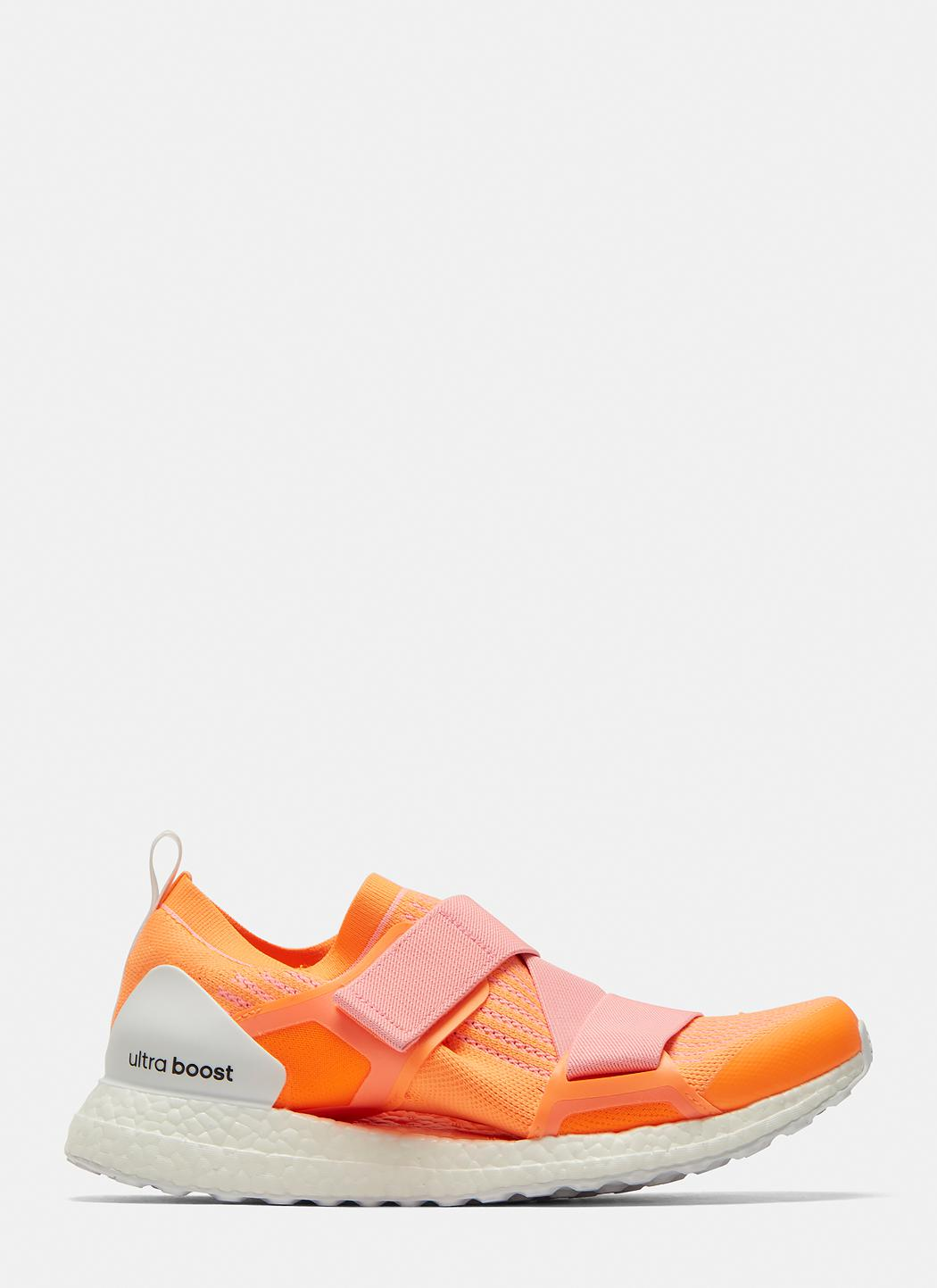 2a7dd4247eb0c Lyst - Adidas By Stella Mccartney Ultraboost Glow Sneakers In Orange ...