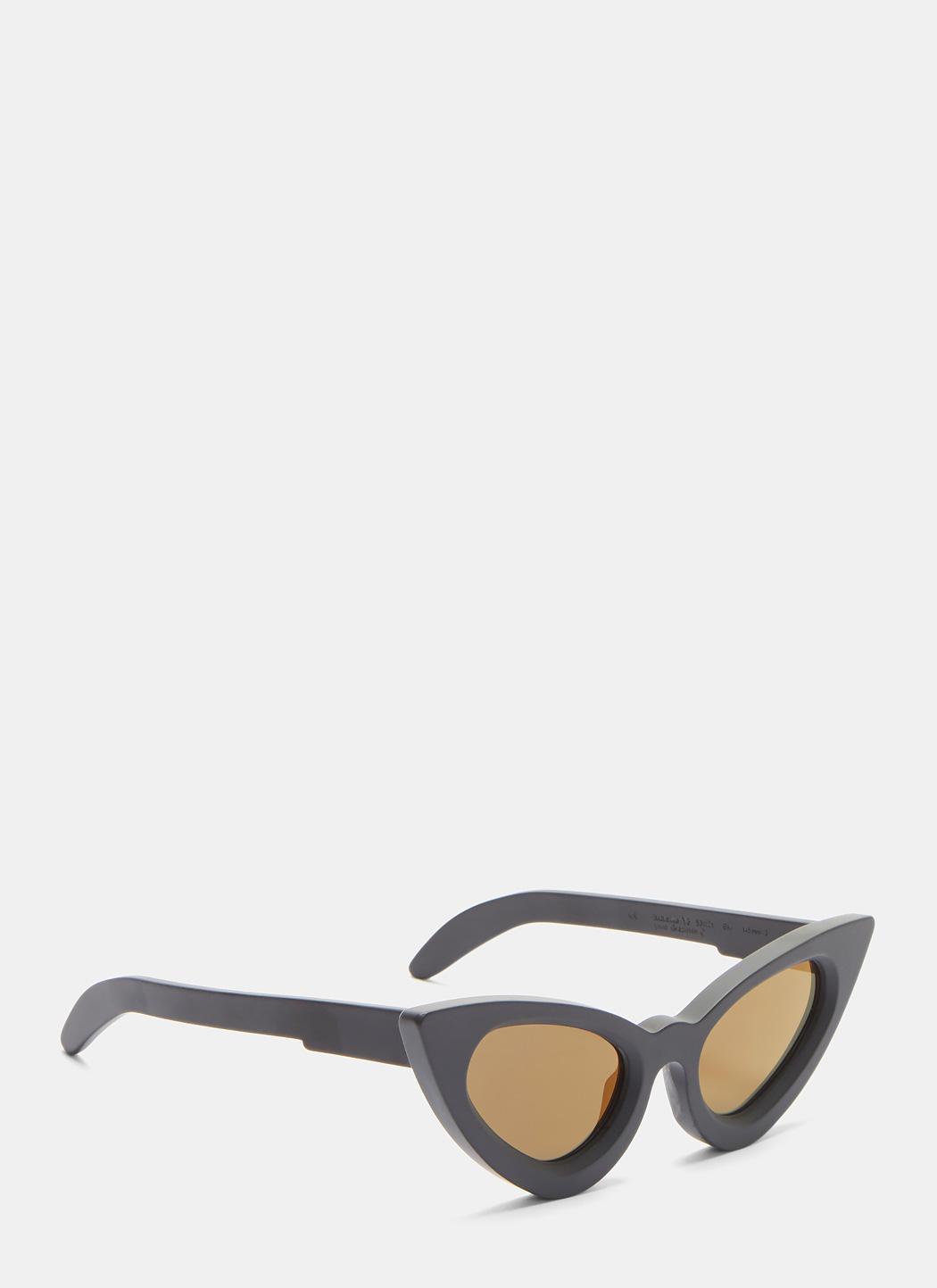 ae86563c988 Lyst - Kuboraum Mask Y3 Matte Cat Eye Sunglasses In Black in Black ...