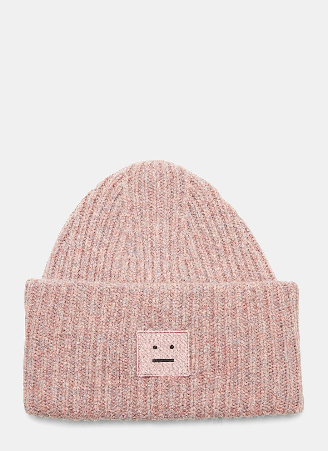 Acne Studios Pansy Large Face Hat In Pink Mélange in Pink - Lyst eb1c9b1a9ff4