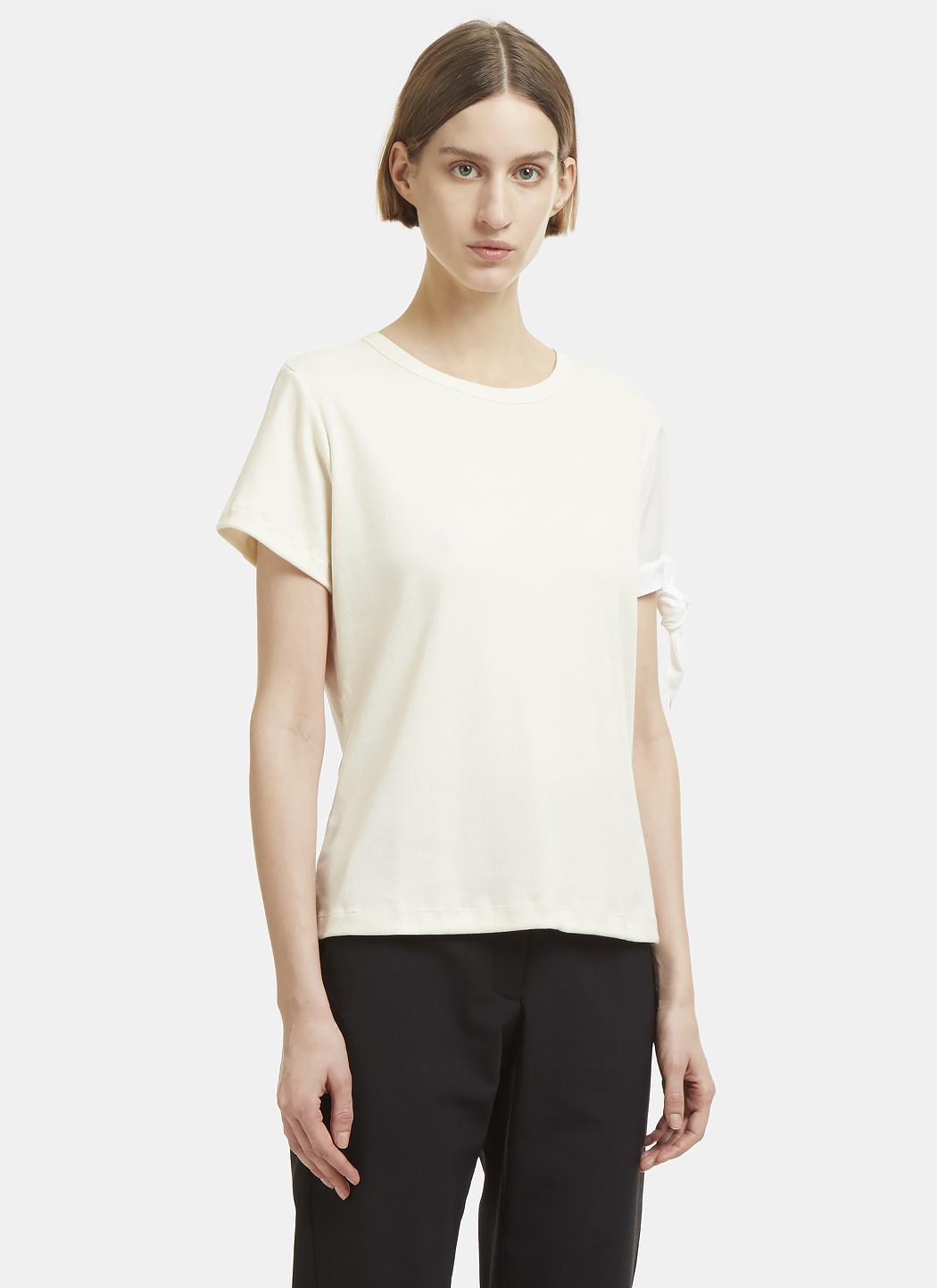Footlocker Cheap Price JW Anderson ribbed T-shirt Outlet Amazing Price Cheap Sale Footlocker Finishline bCpP8ZYC