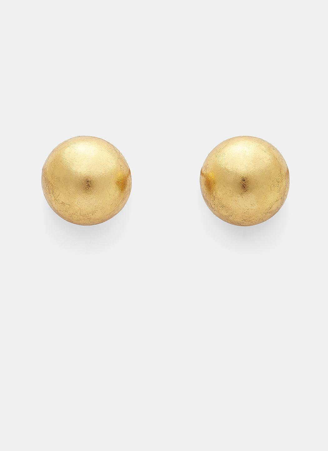 Monies oversized claw clip-on earrings - Metallic gTOsR