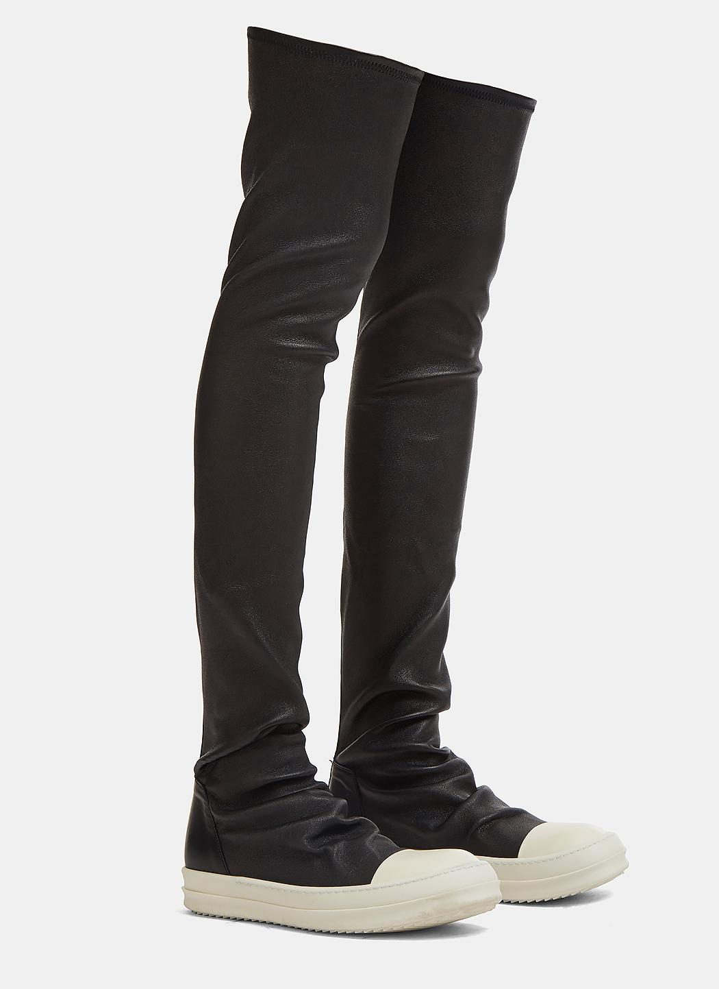 Cheap Original Free Shipping Find Great Stocking sneakers - Black Rick Owens Wholesale Price Cheap Online Cheap Very Cheap Discount Choice THTjaWc