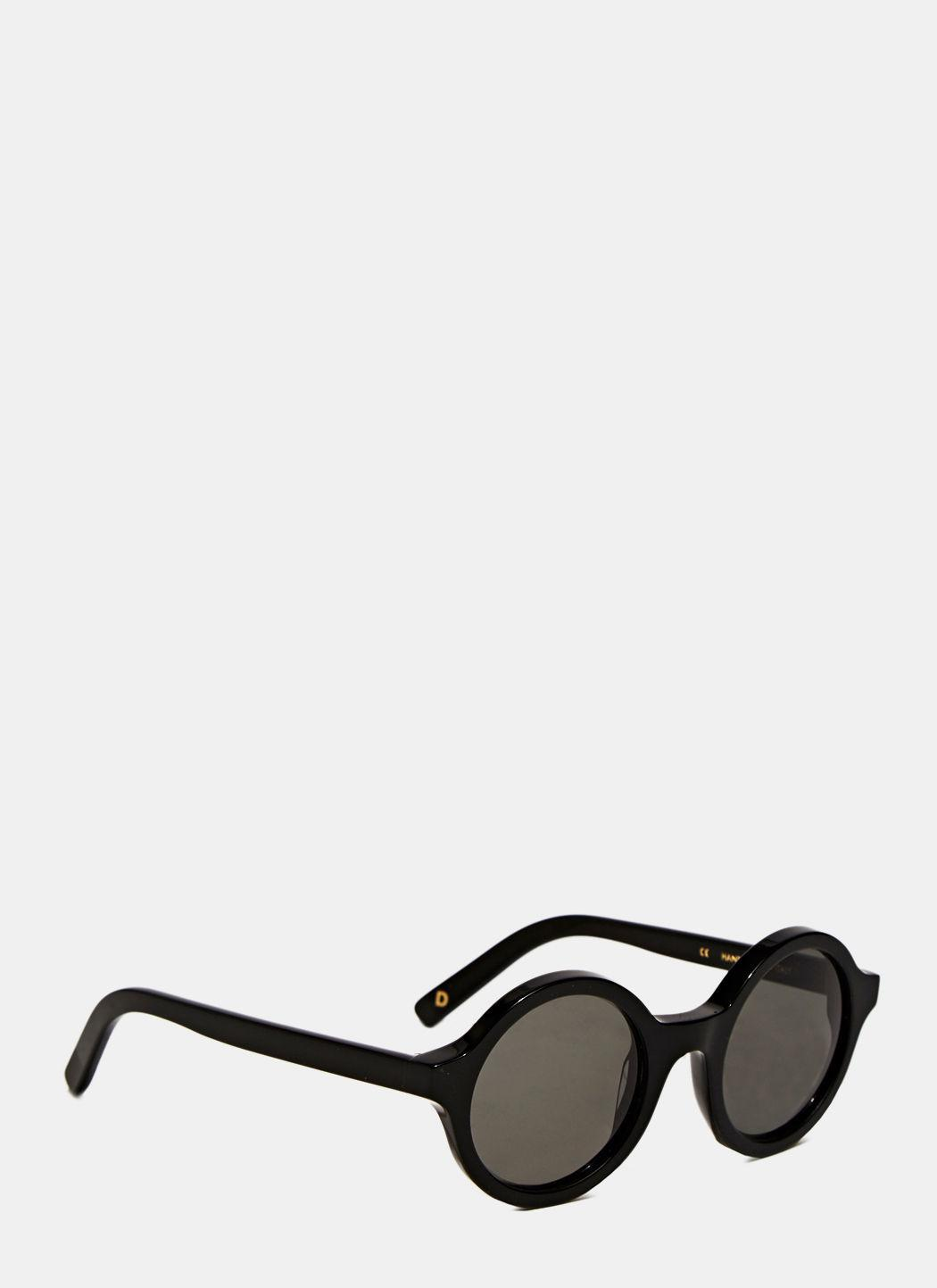6acfb84a9eb Lyst - Dick Moby Unisex Ams Sunglasses From Aw15 In Classic Black in ...