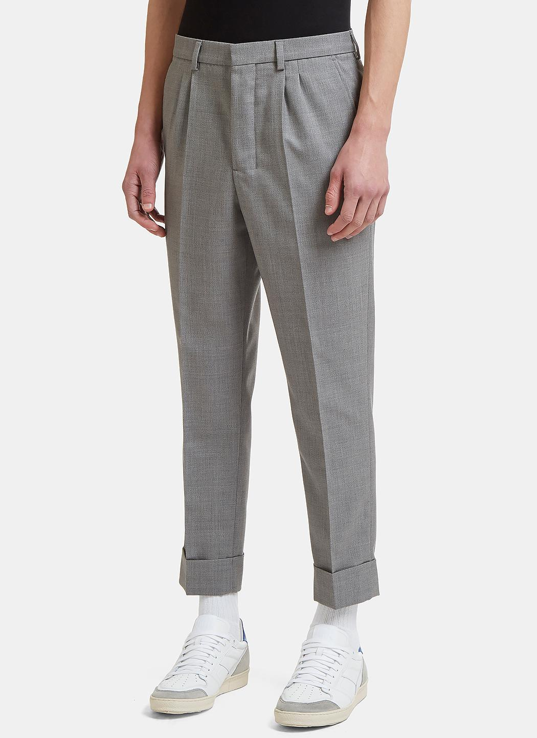 Sale Get Authentic Carrot Fit Gabardine Pants Ami Outlet tqBrn8K