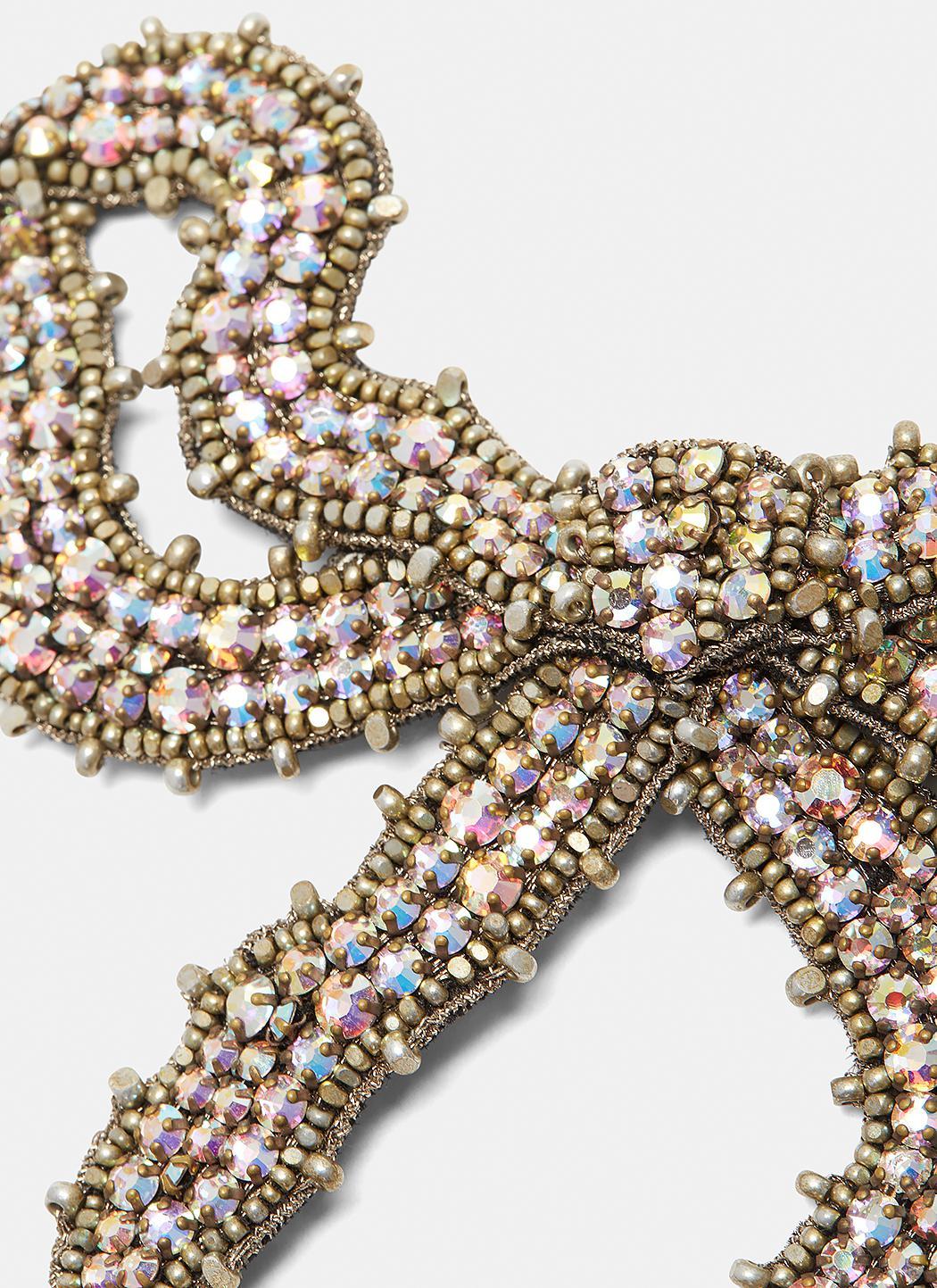 Gucci Crystal bow brooch UuFgiJqx