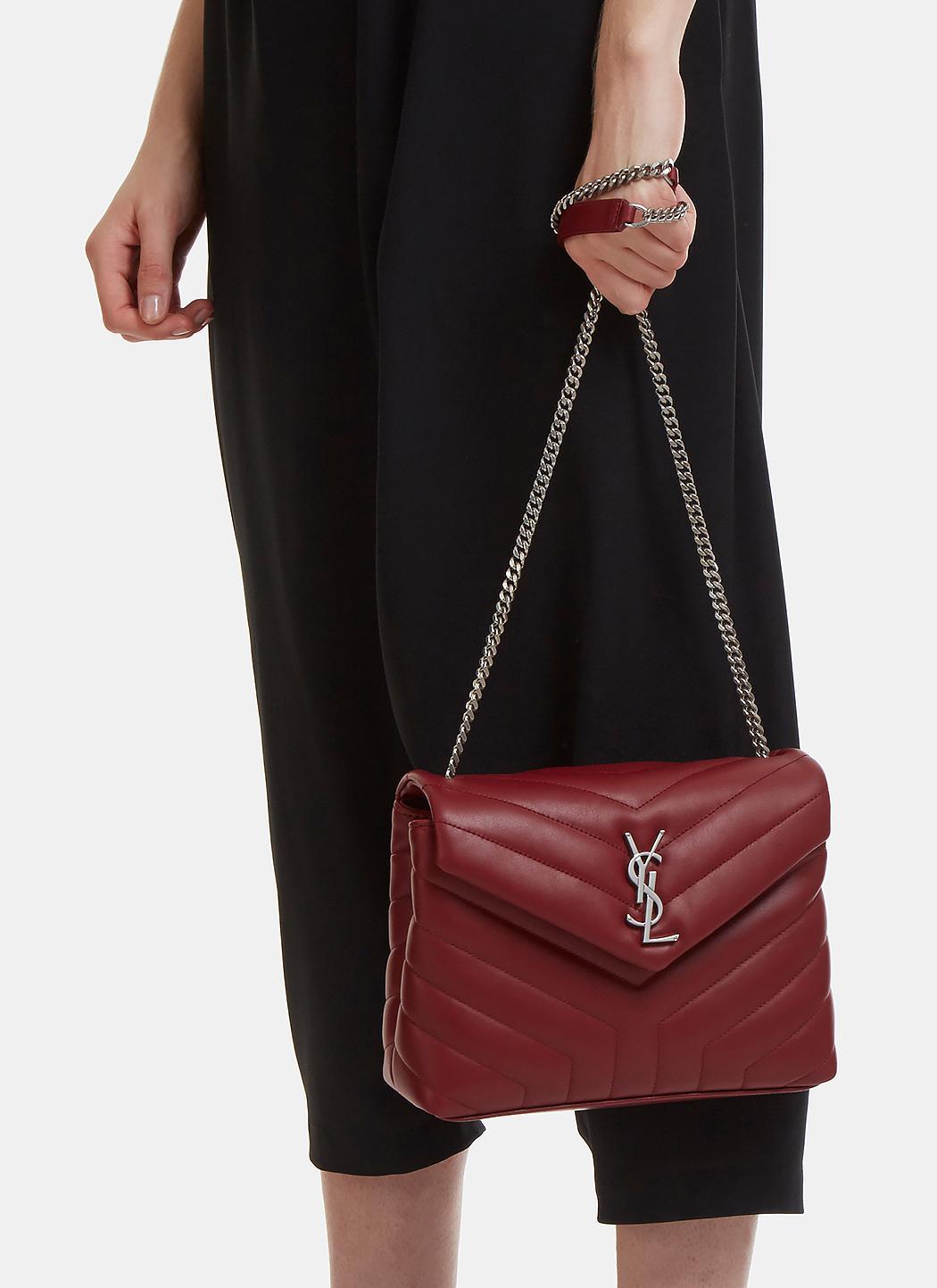 c7cd52152cf Medium Calfskin Bag   Neiman Marcus. Saint Laurent Loulou ...