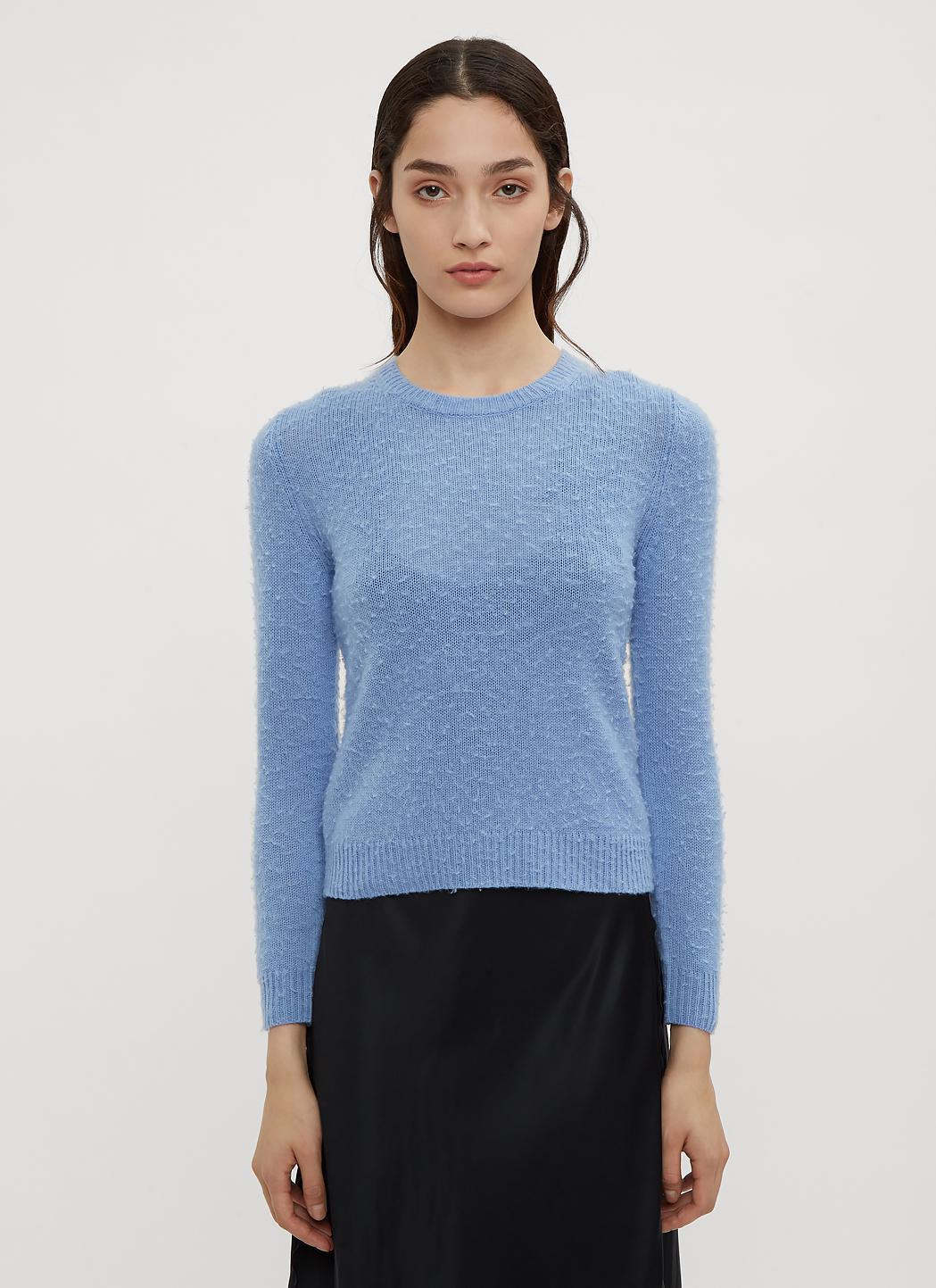 Acne Studios Shrunken Fit Sweater In Blue in Blue - Lyst eac55244022