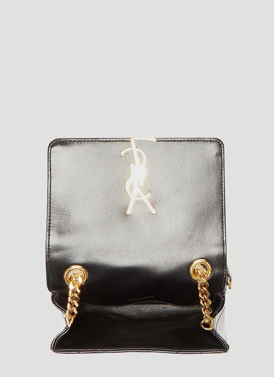Saint Laurent Leather Small Vicky Matelass 233 Patent