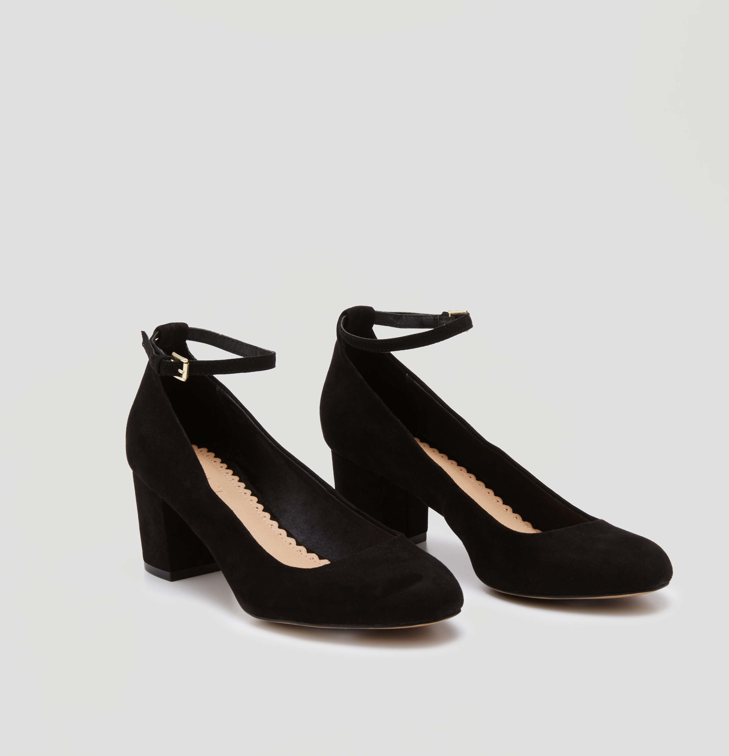 Mid Heels With Ankle Strap