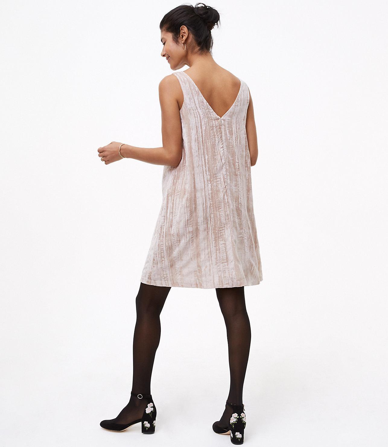 bf80e439de820 Gallery. Previously sold at: LOFT · Women's Swing Dresses Women's Velvet  Dresses