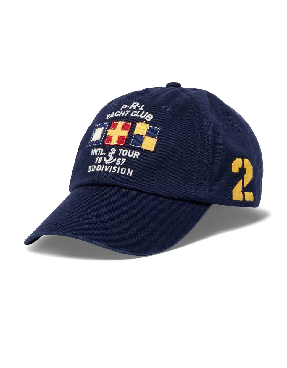 polo ralph lauren nautical 39 2 39 sports cap in black for men. Black Bedroom Furniture Sets. Home Design Ideas