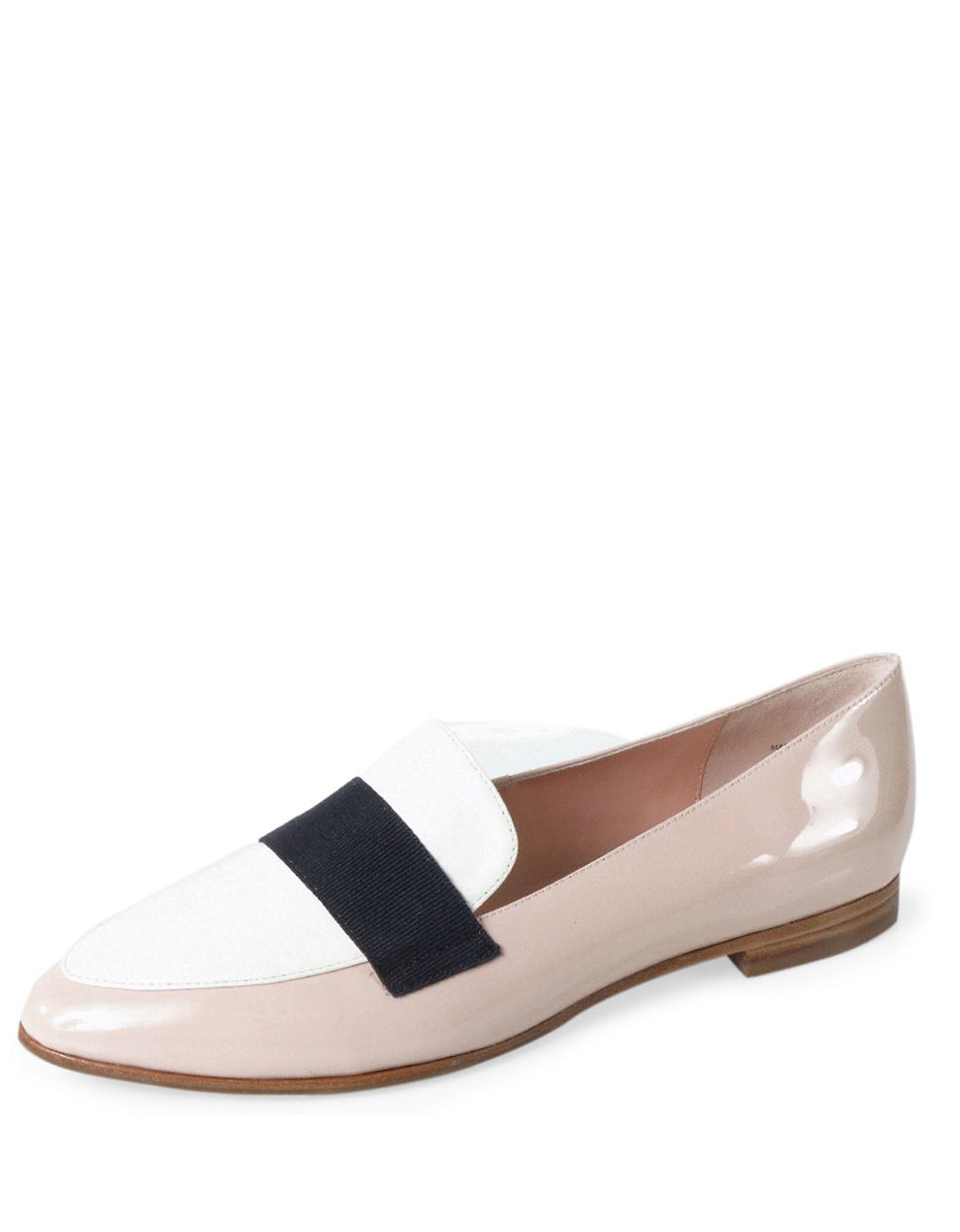 kate spade new york corina leather slip ons in