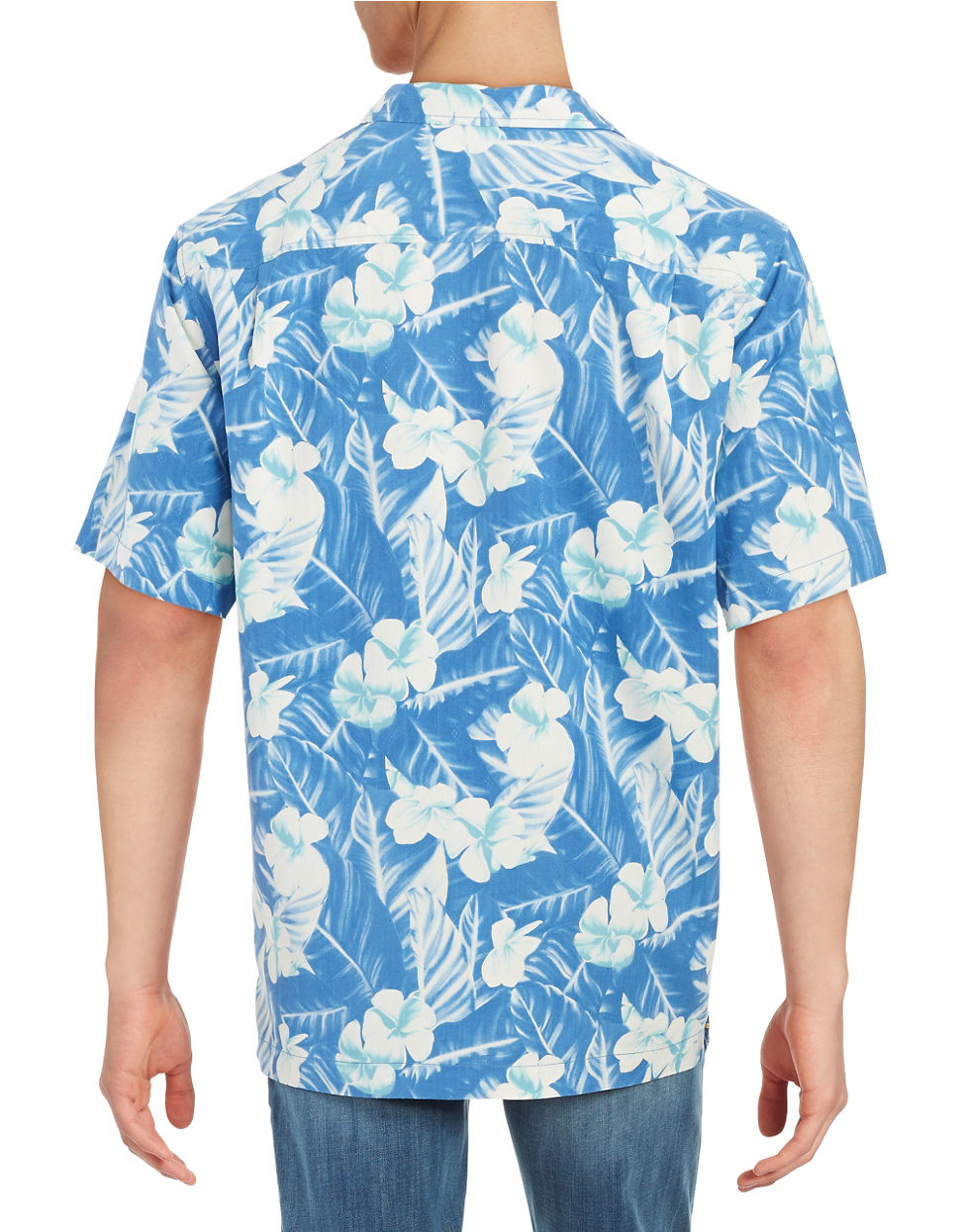 Tommy Bahama Silk Hawaiian Shirt In White For Men Lyst