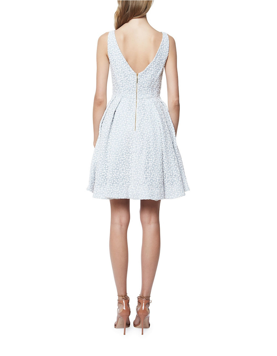 Lyst Erin Fetherston Coco Fit And Flare Dress In White