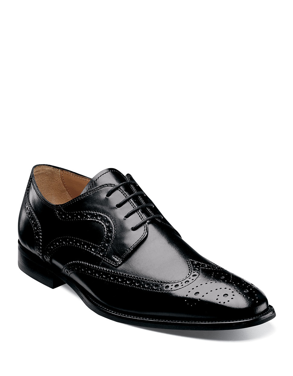 Black And White Wingtip Shoes Uk