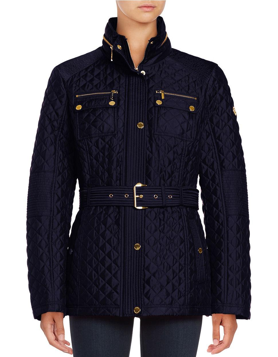 1a420326e7d Michael michael kors Missy Snap-front Quilted Jacket in .