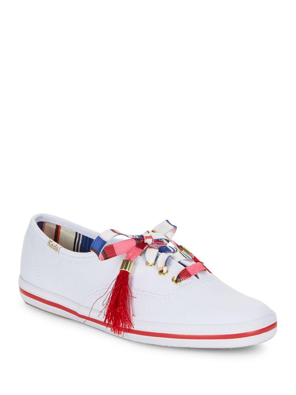 kate spade new york kick keds sneakers in white lyst