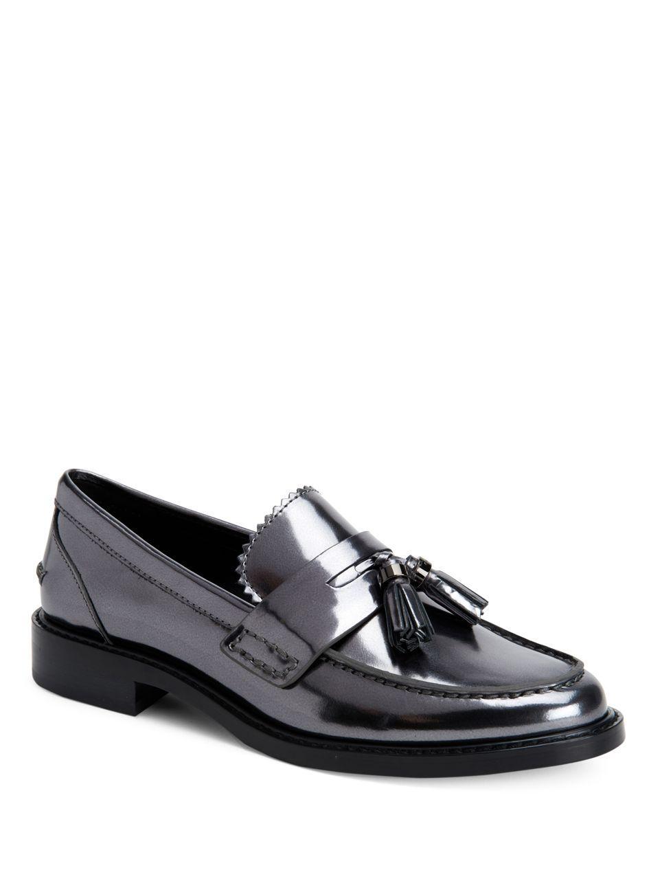 a21d5328f55 Lyst - Coach Izabella Loafers in Black